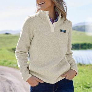 L.L Bean | Sweater Fleece Pullover Medium